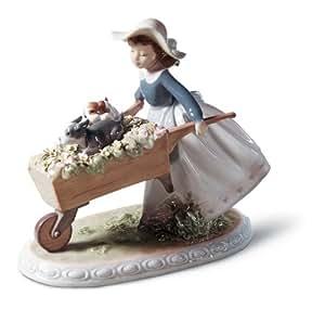 Amazon.com: Lladro A Barrow Of Fun Figurine - Plus One