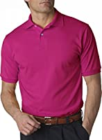 Jerzees mens 50/50 Jersey Polo with SpotShield (437)