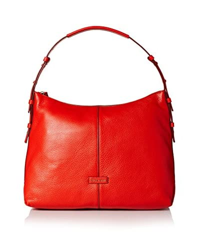 Cole Haan Women's Emma Hobo, Fiery Red