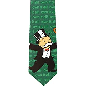 Mr. Monopoly Guy Tie!
