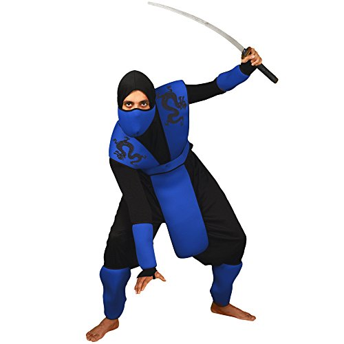 Morphsuits Men's Morphcostume Co Snake Eyes Ninja Unisex Costume