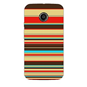 Designer Phone Case Cover for MotoX2 Lines