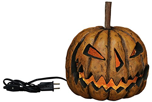 Lighted Pumpkin Lamp Decor