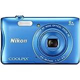 NIKON COOLPIX S3700  20.1MP CCD,  8x Zoom Blue