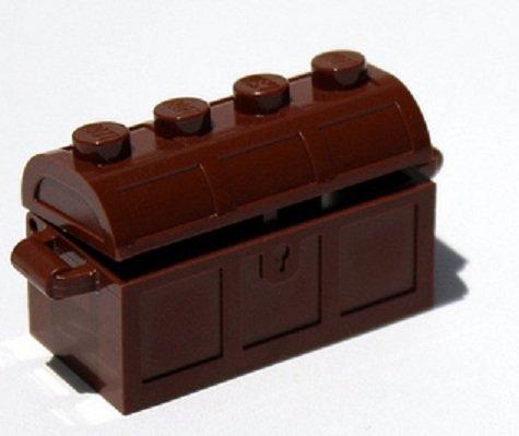 Lego Treasure Chest (Brown Building Accessory) - 1