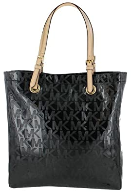 Michael Kors North South 38T1CTTT3Z Women's Tote Handbag Black