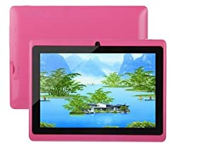 "7"" inch Capacitive Touch Screen Allwinner A13 1.0GHz CPU (up to 1.5GHz maximumly)Processor Android 4.0.3 (Latest Ice Cream Sandwich OS) Tablet PC 4GB HDD 512MB WiFi MID Epad Flash Player 11.1 - Compatible with BBC iPlayer / Youtube / Facebook by Dx-mall ("
