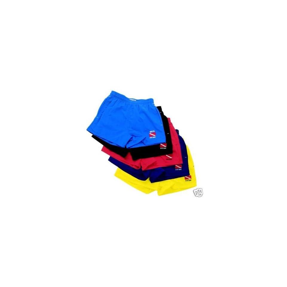 6fee20096fada Uzzi Basic Swim Shorts with Embroidered Dive Flag on PopScreen