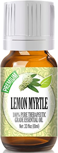Lemon Myrtle 100% Pure, Best Therapeutic Grade Essential Oil - 10ml