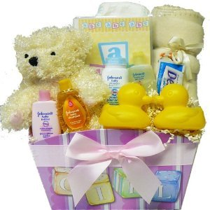 It's A Girl! New Baby Gift Basket