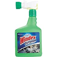 Windex Outdoor Window and Surface Cleaner-32OZ OUTDOOR WINDEX