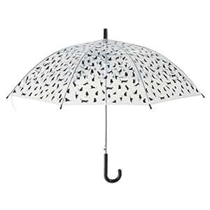 Regenschirm transparent mit katzen koffer for Geschenktrends shop