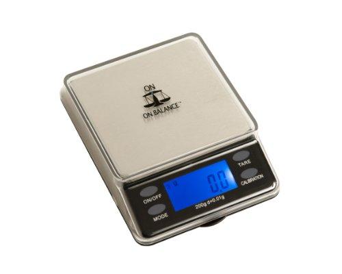 Sur Equilibre MTT-200 Mini Dessus De Table échelle numérique 200 x 0,01g