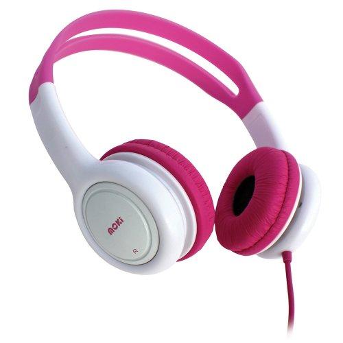 Moki Acc Hpkp Volume Limited Kids Headphones - Pink