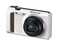 CASIO EXILIM デジタルカメラ ハイスピード 1610万画素 広角24mm 光学12.5倍ズーム ホワイト EX-ZR400WE