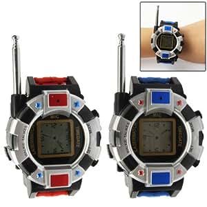 One Pair of Watch 2-Way Radio Walkie Talkie Interphone Toy with Antenna