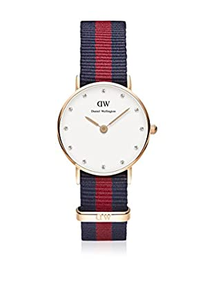 Daniel Wellington Reloj con movimiento cuarzo japonés Woman Classy Oxford blanco/gris 26 mm