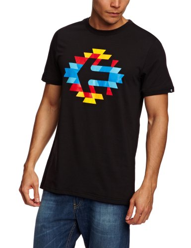 Etnies The Hunted Shortsleeve Printed Men's T-Shirt Black Large