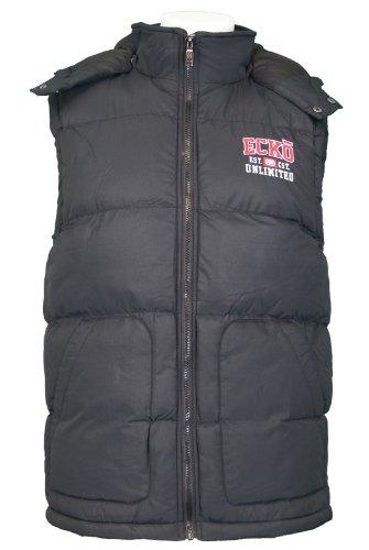 Mens Ecko Unltd Gilet / Body Warmer. Style Name - Mclarens. Black - Size Large