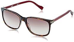 Boss Orange Gradient Square Unisex Sunglasses - (BO0179/S-KANHA|55|Purple lens)