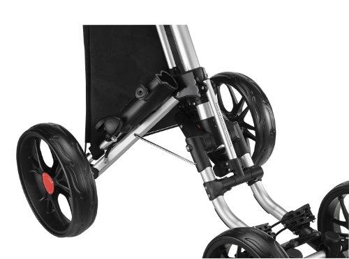 caddytek ez fold 3 wheel golf push cart manual