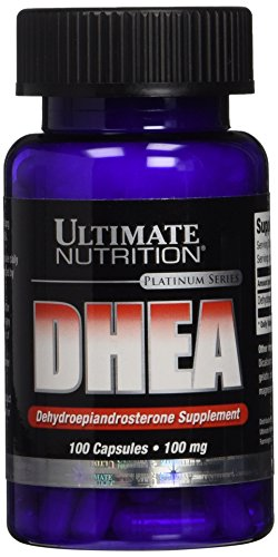Ultimate Nutrition DHEA Platinum Series Capsules, 100 mg