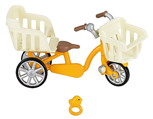 Sylvanian Families Furniture three-seater bicycle - 1