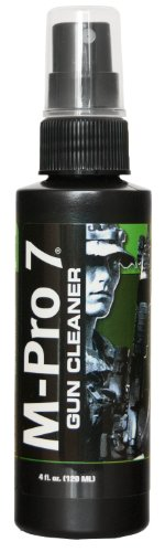 M-Pro 7 Gun Cleaner, 4 Ounce Spray Bottle