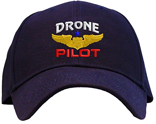 Spiffy-Custom-Gifts-Drone-Pilot-with-Wings-Low-Profile-Baseball-Cap