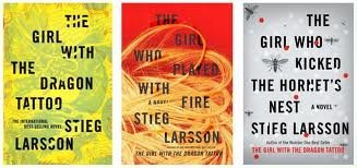 Stieg Larsson's Millennium Trilogy Series Set: (The Girl with the Dragon Tattoo) (The Girl Who Played with Fire) (The Girl Who Kicked the Hornet's Nest) (Millennium Trilogy), Stieg Larsson
