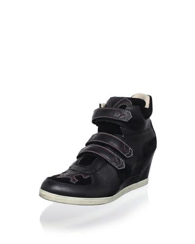 Koolaburra Women's Preston Fashion Sneaker  - Black