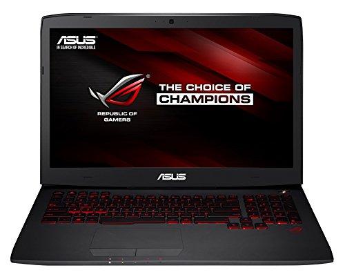 Asus ROG Gaming G751JY-T7159H 43,9 cm (17,3 Zoll) Notebook (Intel Core-i7 4720HQ, 2,6GHz, 16GB RAM, 1TB HDD+ 256GB SSD, NVIDIA Geforce GTX 980M, Bluray, Win 8.1) schwarz