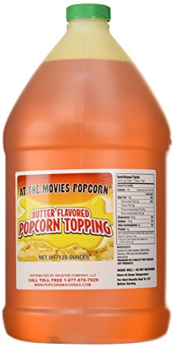 Butter Flavor Popcorn Topping Oil (Gallon) (Popcorn Topping Oil compare prices)