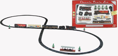 WowToyz Classic Train Classic Train Set - 40 Piece with Steam Engine (Steam Model Train compare prices)