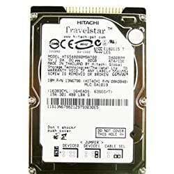 Hitachi 80GB 5400RPM IDE /Pata HTS548080M9AT00 2.5 Inch Laptop Harddrive