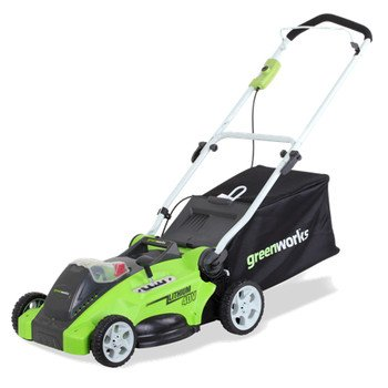 GreenWorks G-MAX Mower, 40V 4 AH Li-Ion Battery and Charger Inc