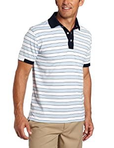 Tommy Hilfiger Men's Leon Polo Tee, Skyway, Small