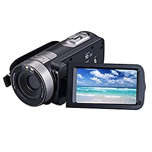 Digital Video Camera Camcorders With IR Night Vision 24.0 Mega pixels, WEILIANTE Portable Mini Handheld Camcorder HD 1080P Max. DV 3