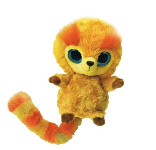 Aurora Plush Golden Lion Tamarin YooHoo with Sound - 8""