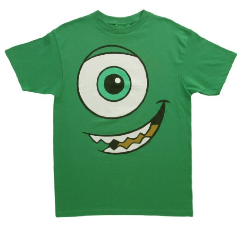Mighty Fine Monsters I Am Mike Costume T-Shirt Green