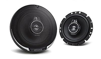 Peugeot 206 - Kenwood KFC-PS1795 - 16cm 3-Wege Lautsprecher Koaxialsystem - Einbauset