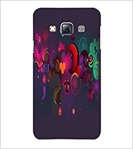 PrintDhaba Pattern D-2159 Back Case Cover for SAMSUNG GALAXY A3 (Multi-Coloured)