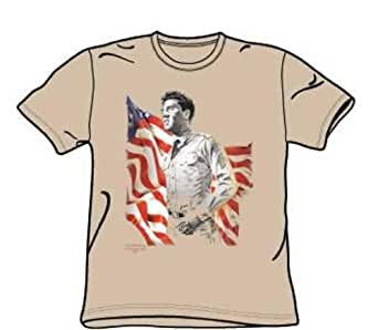 Elvis - Freedom - Youth Sand S/S T-Shirt For Boys, Youth X-Large, Sand