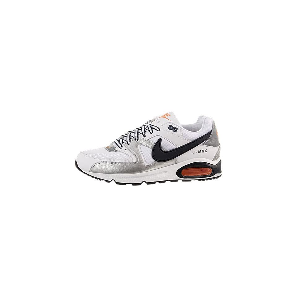 best authentic 6761e 891ea Nike Air Max Command Mens Running Shoes  397689 109  White Obsidian  Metallic Silver