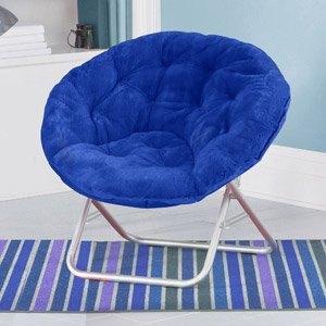 blue-plush-saucer-moon-chair-adult-size