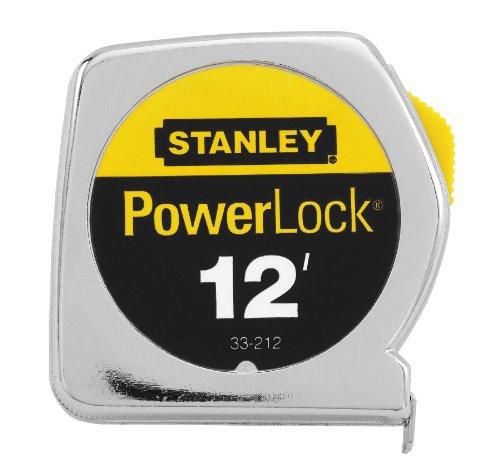 Stanley 33-212 12-Foot PowerLock Tape Rule (Stanley Die Cast compare prices)