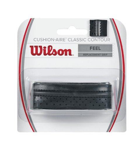 Wilson Griffband Cushion Aire Classic Contour Grip, Black, WRZ4203BK
