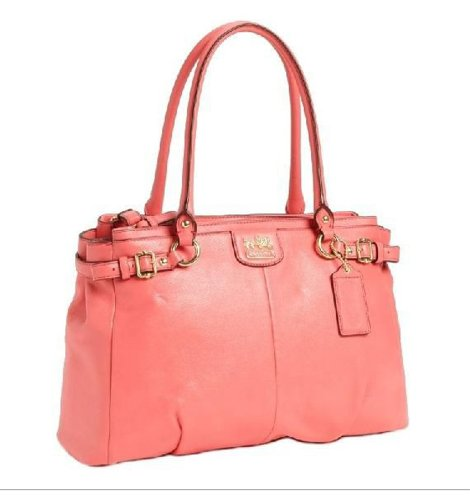 Coach Limited Edition Madison Kara Satchel 22262 Coral