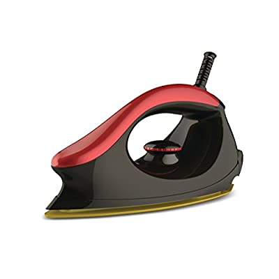 Bajaj Majesty One 1000-Watt Dry Iron (Red/Black)