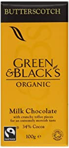 Green and Blacks Milk Butterscotch Bar 100g